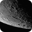 Panorama of the vicinity of the south pole of the moon - July 15, 2020,                                Loxley
