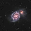 M51 Whirlpool Galaxy,                                John Travis