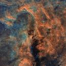 Surrounding nebulosity around NGC6914,                                Tim Hutchison