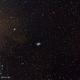 Messier1 : Crab Nebula in highclouds,                                Jan Borms