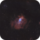 Bubble Nebula & M52 Star Cluster,                                Abduallah Ahmad