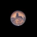 Mars - Opposition 2020 - 14oct2020 - 00:57 PDT/07:57 UT - 9 hrs past,                                dswtan