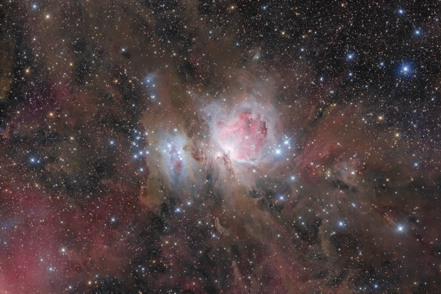 M42 the Orion nebula with Epsilon130 and Eos6d,                                tommy_nawratil