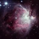 Orion Nebula M42,                                Stefan Böckler