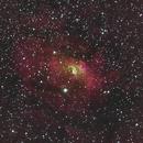 NGC 7635 - Bubble Nebula (HOS palette),                                Mark Spruce