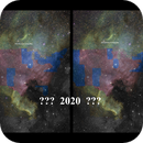 The North American Nebula Meets 2012 vs 2016 Electoral Map  (Space Art) (RGB+BGR+GRB+Lum combination),                                Brandon Tackett