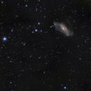 NGC2146 and Friend,                                niteman1946