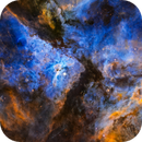 NGC3372 Carina Nebula (Hubble Palette),                                Bryan He