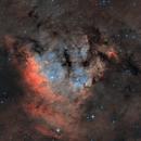 NGC 7822, Sh2-171, Cederblad 214,                                Ola Skarpen SkyEyE