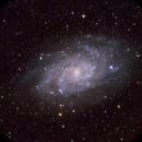 Triangulum galaxy Messier 33,                                Serkan Boydağ