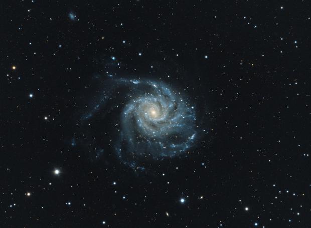 The Pinwheel Galaxy (M101),                                Wintyfresh