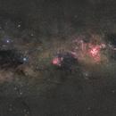 Crux to Vela - an Ultra-widefield mosaic,                                ChrisG_BNE