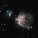 Orion and Running Man Nebula,                                Gorkem K. Oz