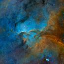 NGC 6188,                                Jan Róg