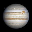 2020.3.22 Jupiter:GRS and Callisto,                                周志伟