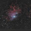 IC405 - The Flaming Star Nebula,                                pirx13