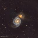 M51 RGB,                                Philippe Oros