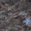 Pleiades | Seven Sisters | M45 in the cloud of Taurus,                                Shubhendu Sadhukhan