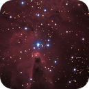 Cone nebula NGC 2264 close-up,                                rhedden