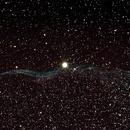 Dentelle du Cygne (NGC 6960),                                Cyril NOGER