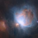 M42 - Orion and Running Man,                                Jess Carlisle