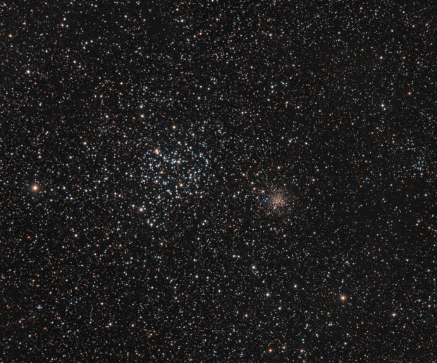 M35 and NGC 2158,                                rhedden