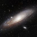 M31 Andromeda Galaxy,                                wasadi