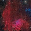 Flaming Star Nebula in HaLRGB,                                Alberto Pisabarro