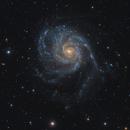 M101  Pinwheel galaxy,                                bawind Lin