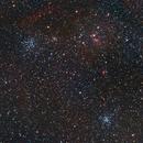 Auriga M36, M38, IC 417,                                S. Stirling