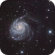 Messier 101 - Pinwheel Galaxy,                                Ryan Fraser