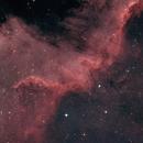 Cygnus Wall in NGC 7000,                                Joe Niemeyer