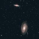 M81 - Bode's Galaxy & M82 - Cigar Galaxy,                                Dale Hollenbaugh