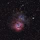 Trifid Nebula M20,                                jolind