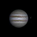 Jupiter and Europa (24 apr 2015, 21:18, UTC+3),                                Star Hunter