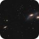 ARP120 - The Eyes Galaxy NGC4438/4435  and NGC4425,                                Arnaud Peel