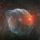 Sharpless 308 (with RsGB stars),                                Ruben Barbosa