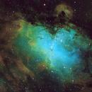 M16 Eagle Nebula (Pillars of Creation),                                George Pappayliou