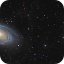 Messier 81, Messier 82, and associated objects in Ursa Major: Two Panel Mosaic – HaLRGB,                                Steve Milne