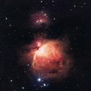 M42 and Running Man Nebula,                                Jose El Corazon