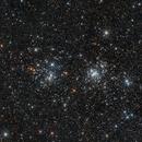 NGC 861 und NGC 884 - H und Chi Persei,                                Riedl Rudolf