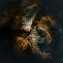Carina nebula,                                Simon Johnson