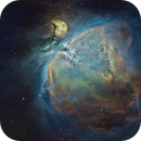 M42 - Hubble Palette,                                Mike Wiles