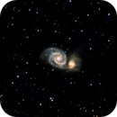 M51, the Whirlpool Galaxy, Hyperstar,                                77kev89