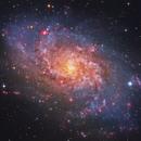 M33, LRGBHa,                                Firas Haki