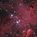 Thackerays Globules & Churchill's Cigar in IC 2944 (Centaurus),                                Harel Boren