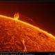 AR 2593 and eruptive prominences,                                Łukasz Sujka