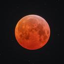 2019 lunar eclipse w/ meteorite impact,                                Bartosz Wojczyński