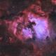 NGC 7000 & Surroundings - BiColor,                                Jonas Illner