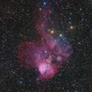 NGC 2467 and surroundings,                                Xing Keyu